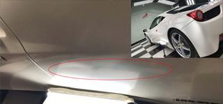 如何避免汽车凹痕免喷漆修修复出现二次损坏