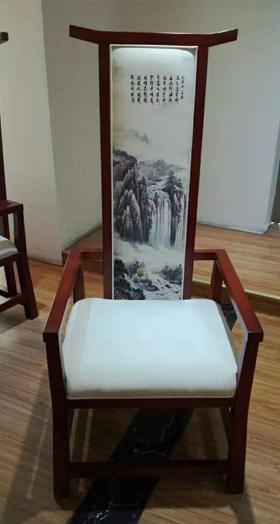 中山古船木桌椅