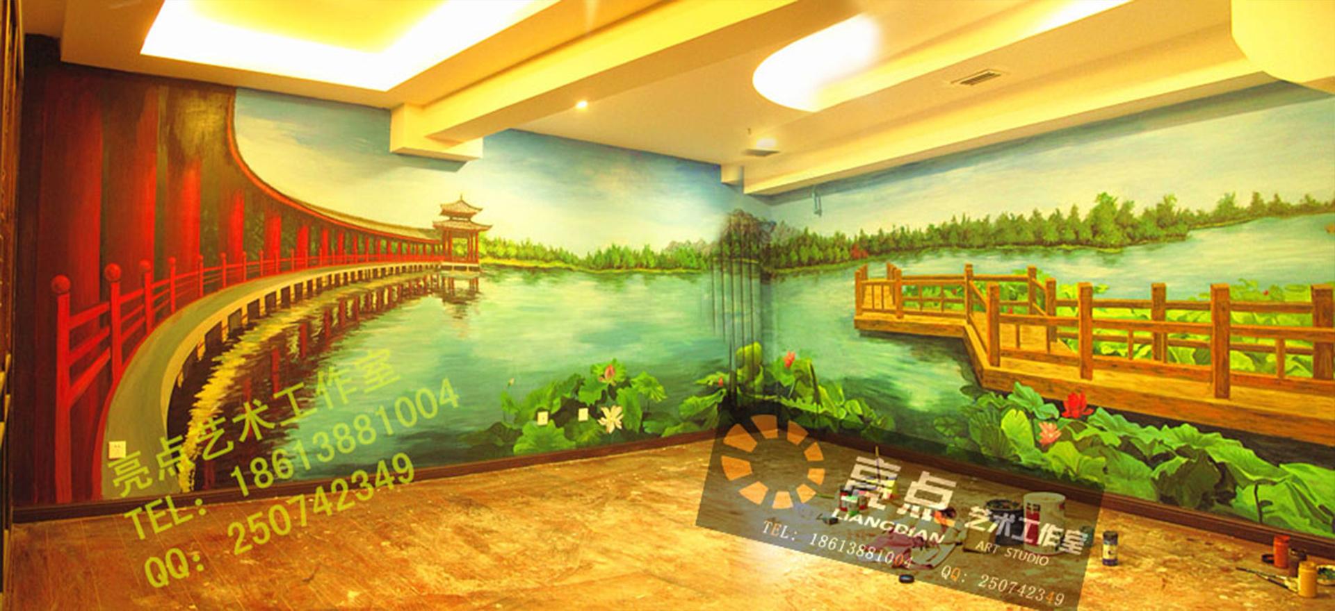 北京手绘墙