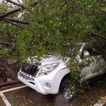自然灾害车身修复