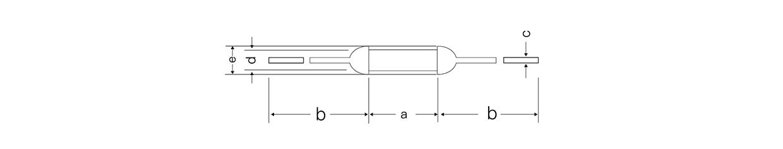 合金型温度保险丝P-1A-F