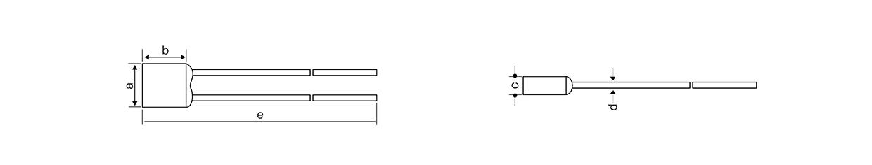 合金型温度保险丝A-1A-F